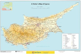 Cyprus Maps And Media - Cyprus map