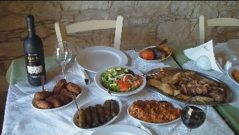 Cyprus traditional meal